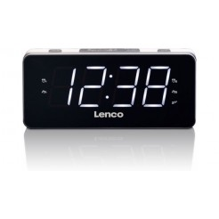 Lenco CR-19 Wekkerradio Wit