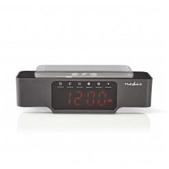 Nedis Digitale Wekkerradio FM Bluetooth