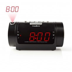 Nedis Digitale Wekkerradio met Display LED van 0,9 FM