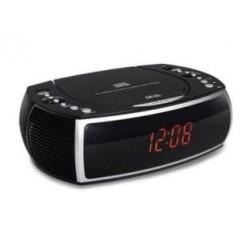 Akai ARC125BK Klokradio met CD Speler Zwart
