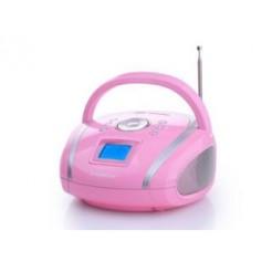 Audiosonic RD-1566 Draagbare USB FM MP3 SD Wekker Radio