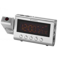 Audiosonic CL-471 Klokradio met Projectie Zilver