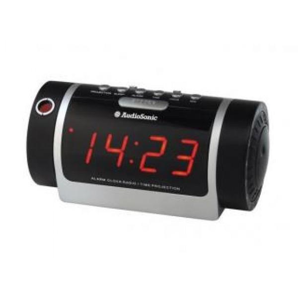 how to set an alarm on a audiosonic radio
