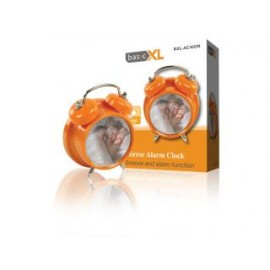 Basicxl Bxl-ac40 or Spiegelwekker met Alarm Oranje