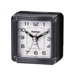 Hama 00113937 A30 Travelling Alarm Clock, Grey