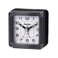 Hama 00113937 A30 Travelling Alarm Clock, Grey