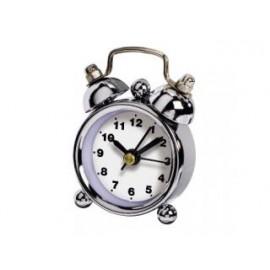 Hama 00123185 Alarm Klok Nostalgie Mini Wit