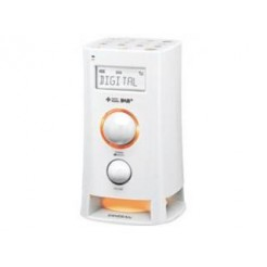 Sangean DCR200 Digitale Klok Radio Wit
