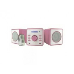 Soundmaster MCD360PI CD/MP3/USB Micro Audioset Wekkerradio