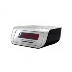 Soundmaster UR104SI Wekkerradio Zilver