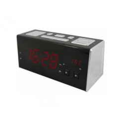 Soundmaster UR965 Jumbo Wekkerradio met USB en Dimbaar Display