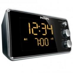 Philips AJ 3551/12 zwart-zilver - Radiowekker