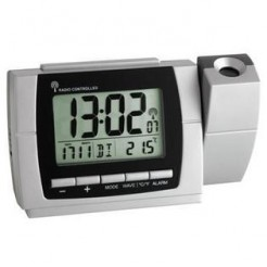 TFA 60.5002 - Draadloze projectieklok met thermometer