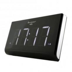 Soundmaster UR8400 - Wekkerradio met groot, wit display