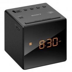 Sony ICF-C1B Zwart - Wekkerradio met groot LED-Display