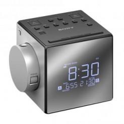 Sony ICF-C1PJ Zilver - Wekkerradio met projectie, USB-Aansl