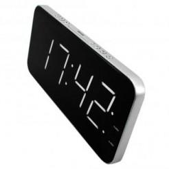 Soundmaster UR8900SI Zilver - Wekker met groot Display